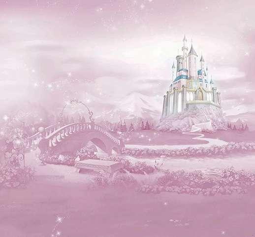 Disney kastély vlies gyerek fali poszter lányszobába