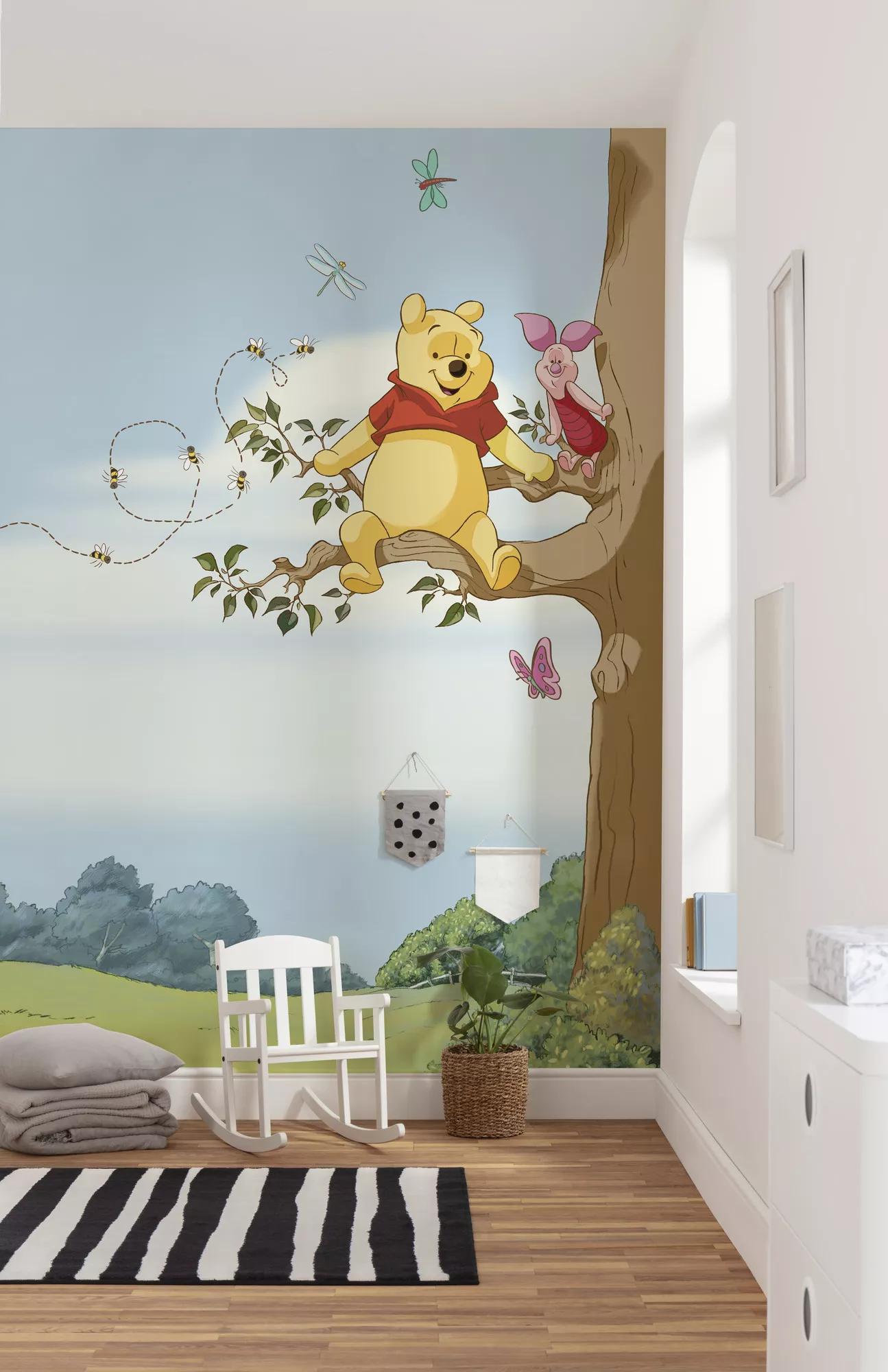 Disney Micimackó és malacka fali poszter gyerekszobába