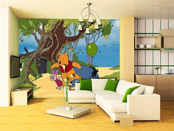 Disney micimackó fali poszter gyerekszobába