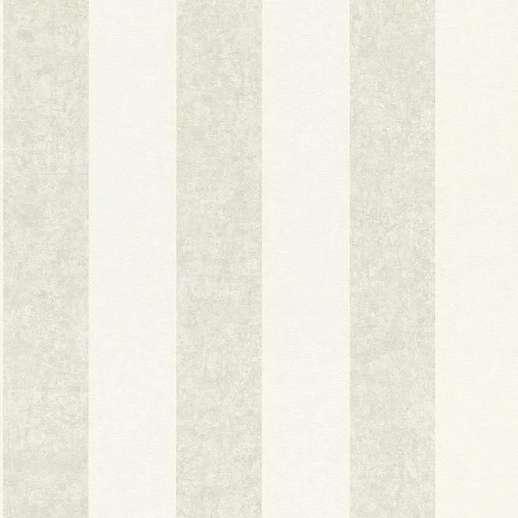 Drapp fehér metál fényű csíkos mintás vlies design tapéta
