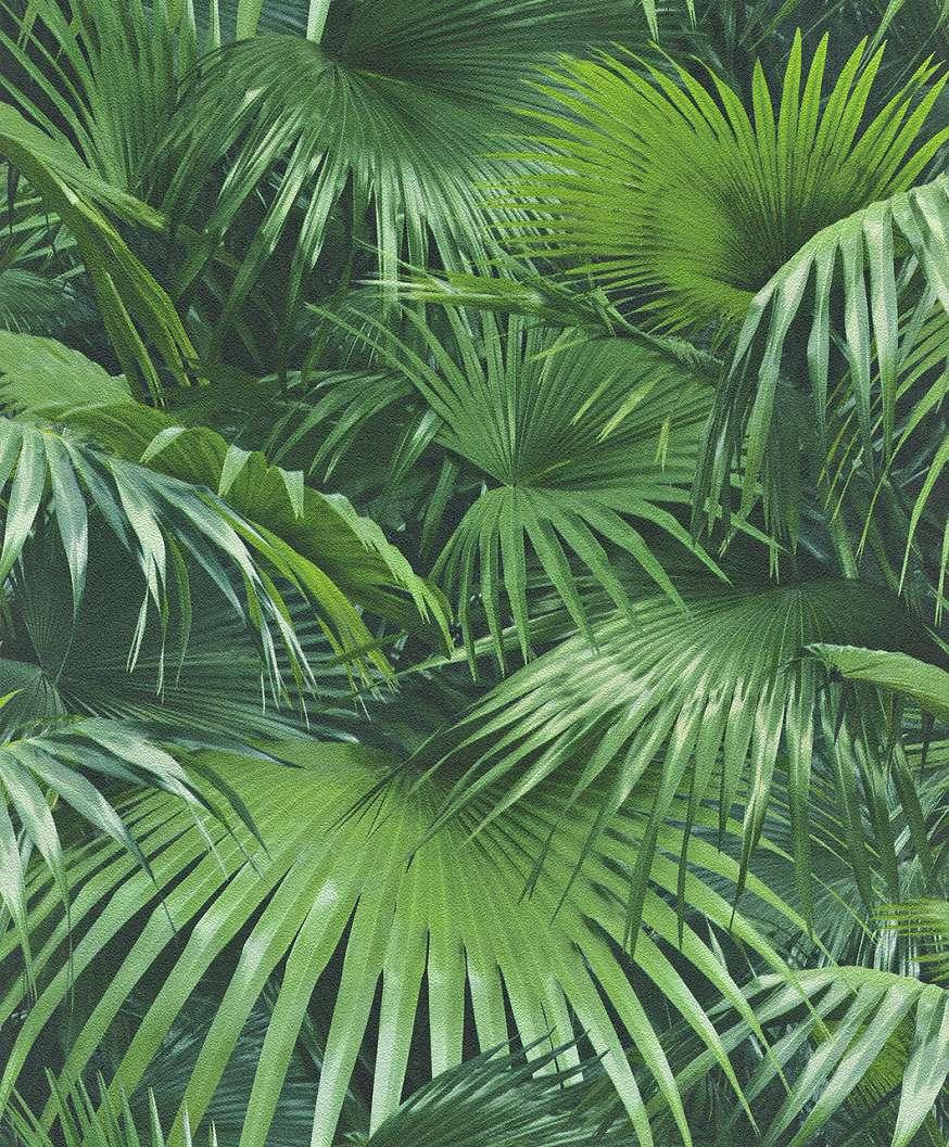 Dzsungel hatású tapéta