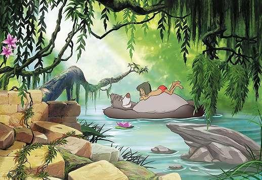 Dzsungel könyve gyerekszobai óriás fali poszter