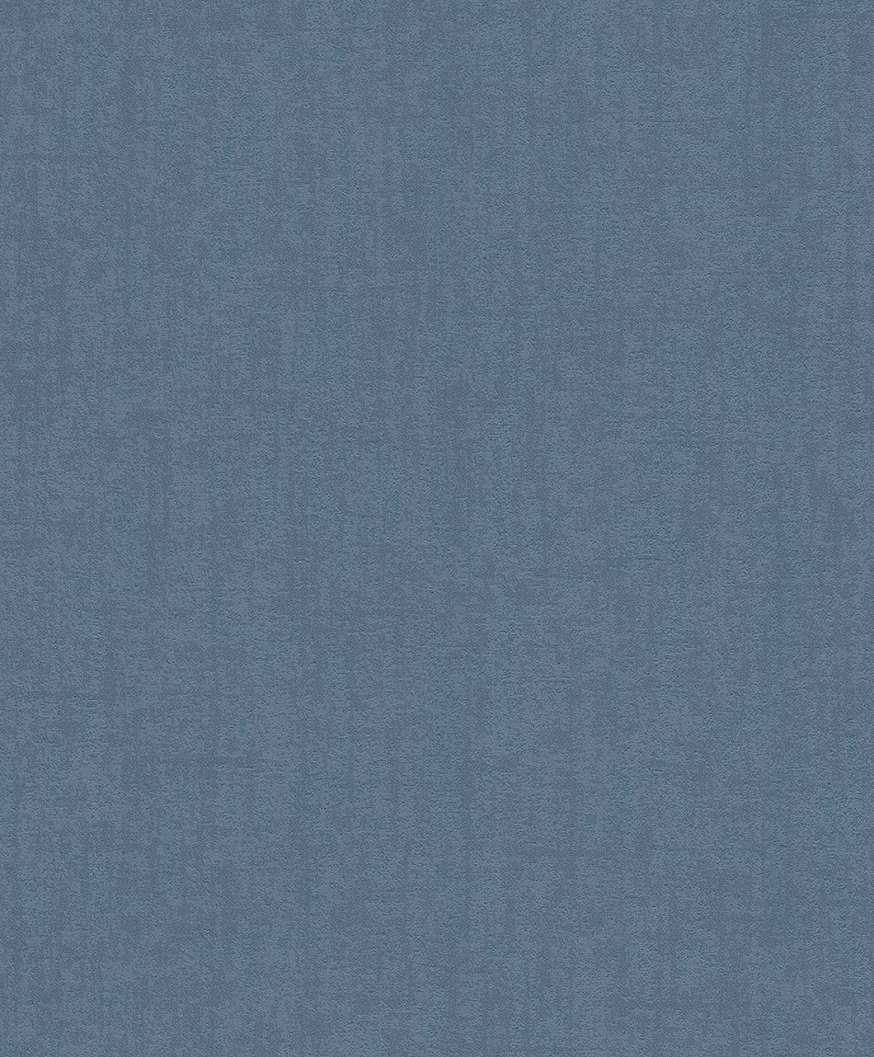 Egyszínű kék modern tapéta.