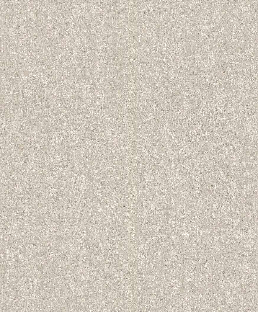 Egyszínű krém modern tapéta