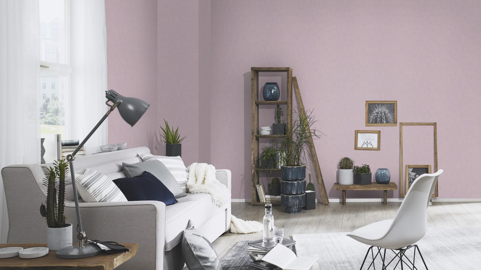 Egyszínű lila tapéta