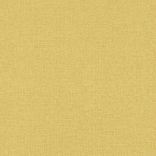 Egyszínű struktúrált sárga mosható felületű vlies-vinyl tapéta
