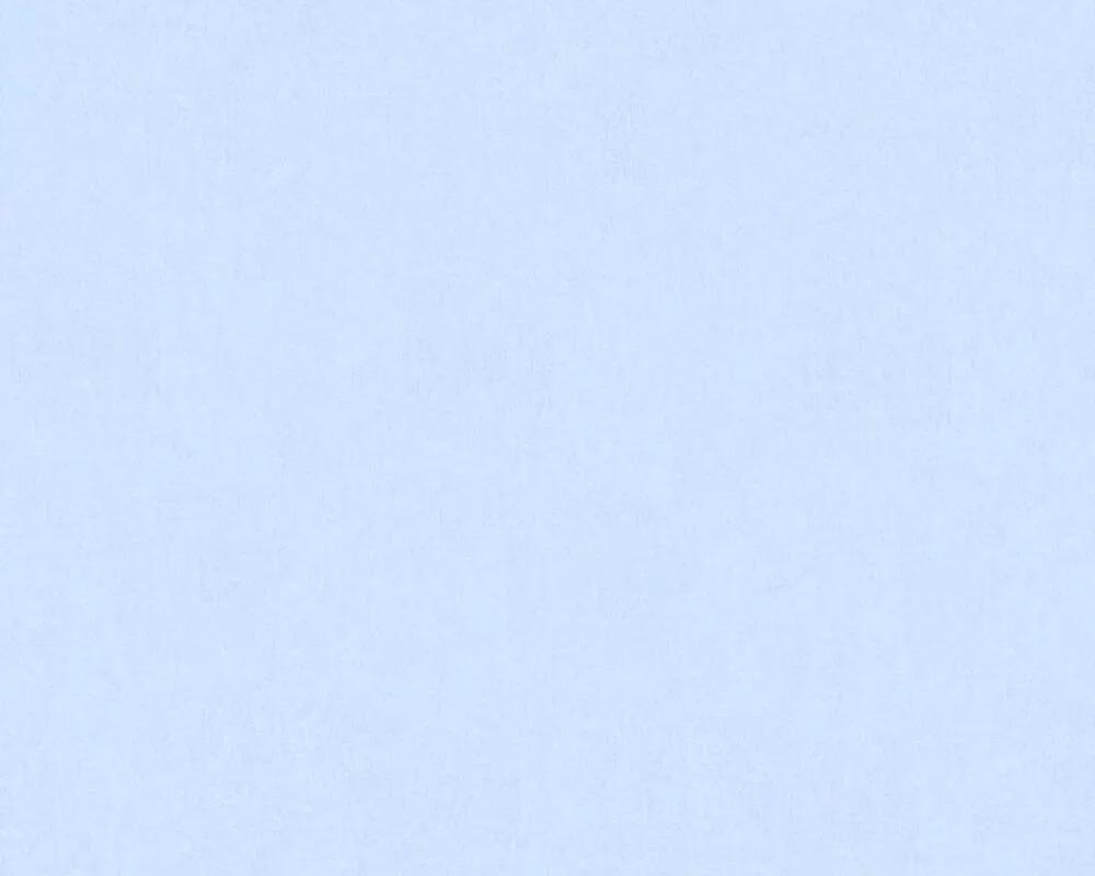 Egyszínű világoskék vlies gyerek tapéta