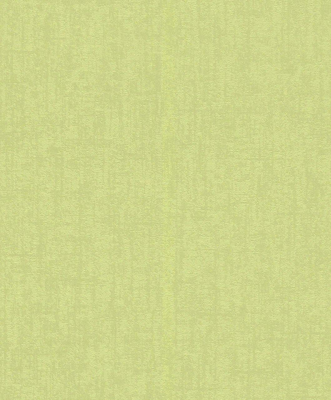Egyszínű zöld modern tapéta.