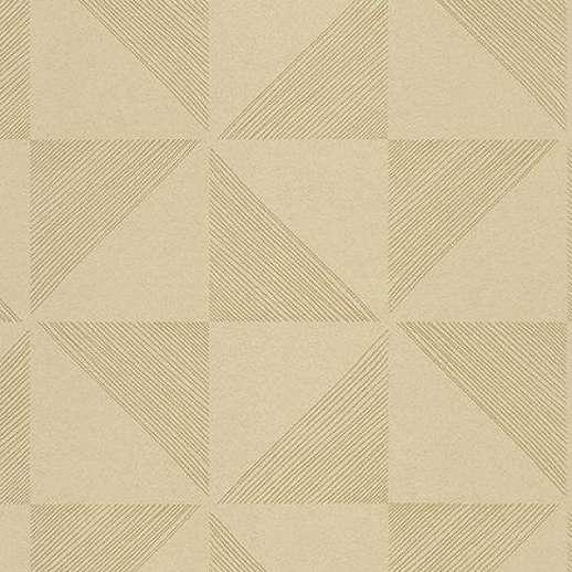 Eijffinger Geonature arany színű geometriai mintás tapéta