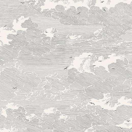 Eijffinger Geonature felhő mintás tapéta