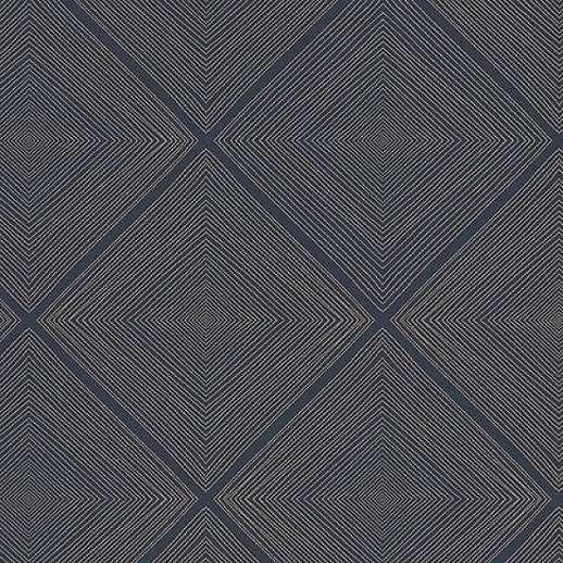 Eijffinger Geonature kékes geometriai mintás tapéta