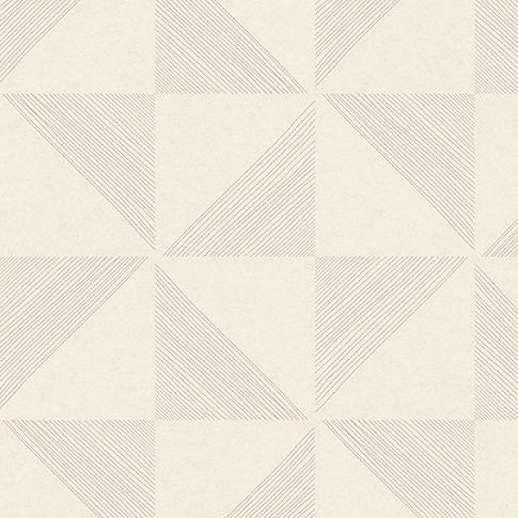 Eijffinger Geonature pink-beige geometriai mintás tapéta