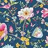 Eijffinger Pip ízléses kínai kert stílusú mintás tapéta