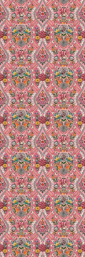 Eijffinger Pip melódia pink fali poszter