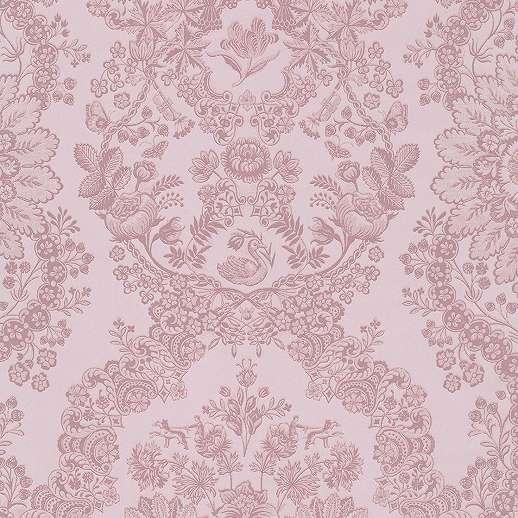 Eijffinger Pip rózsaszín mintás orientális hatású tapéta