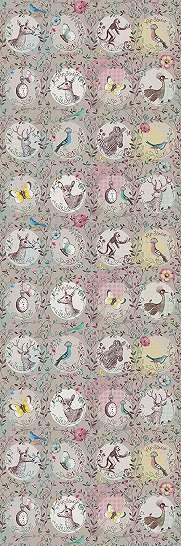 Eijffinger Pip színes állatos fali poszter