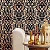 Eijjfinger Yasmin arany-fekete színű orientális stílusú tapéta