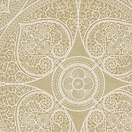 Eijjfinger Yasmin fehér-arany színű orientális stílusú tapéta
