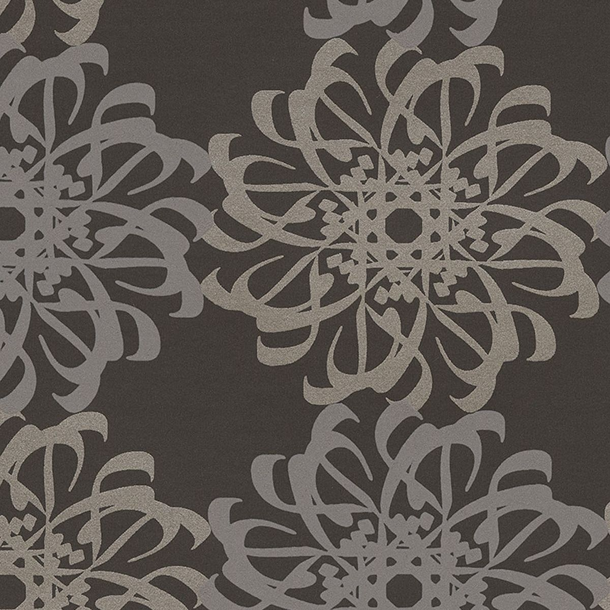 Eijjfinger Yasmin geometriai mintás barna-tóp színű orientális stílusú tapéta