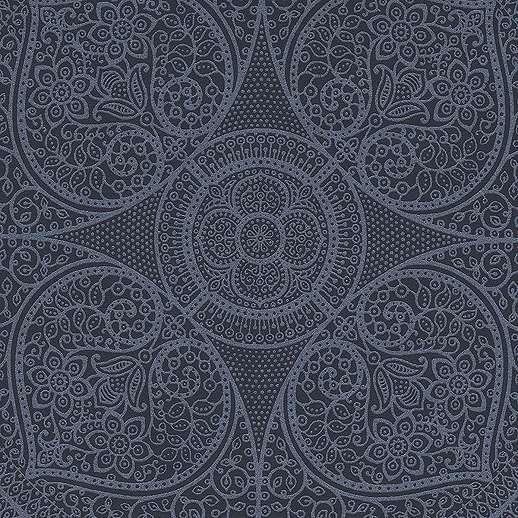 Eijjfinger Yasmin kék színű orientális stílusú tapéta