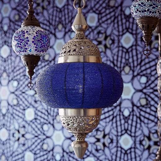 Eijjfinger Yasmin lila-fekete színű orientális stílusú tapéta