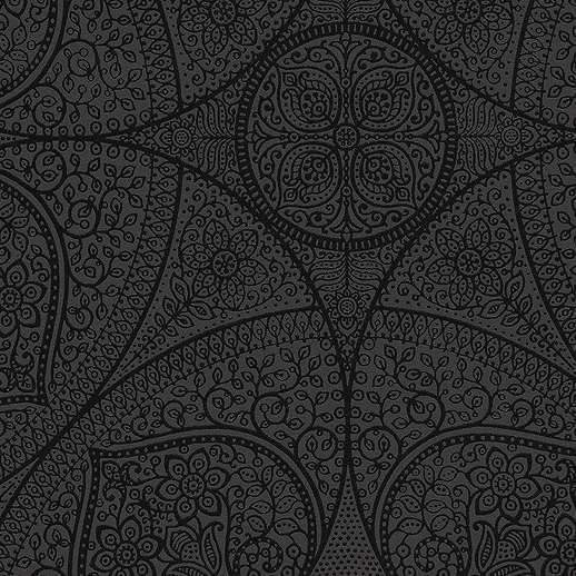 Eijjfinger Yasmin sötétszürke színű orientális stílusú tapéta