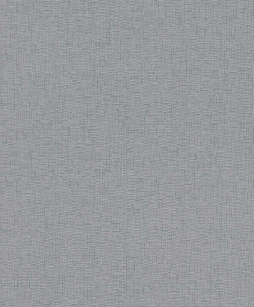 Ezüstszürke nyomott mintás egyszínű tapéta