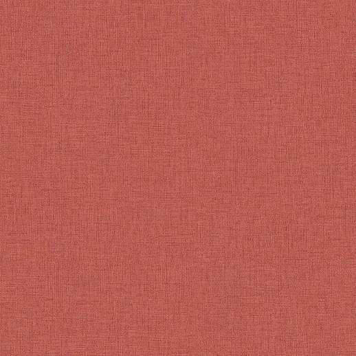 Fakó piros szövet hatású vlies vinyl uni tapéta