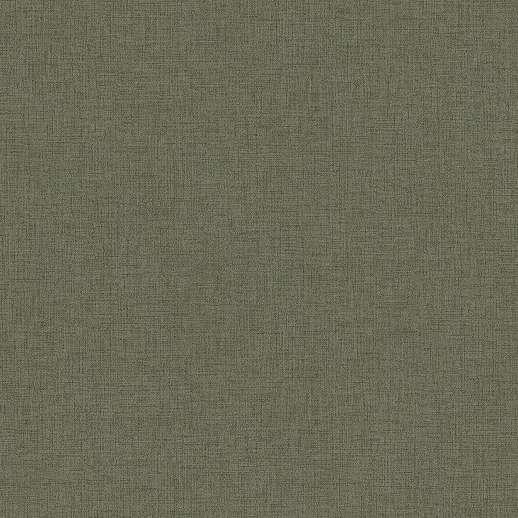 Fakózöld textil szőtt hatású vlies tapéta