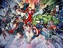 Fali poszter a Marvel Avengers összes hősével