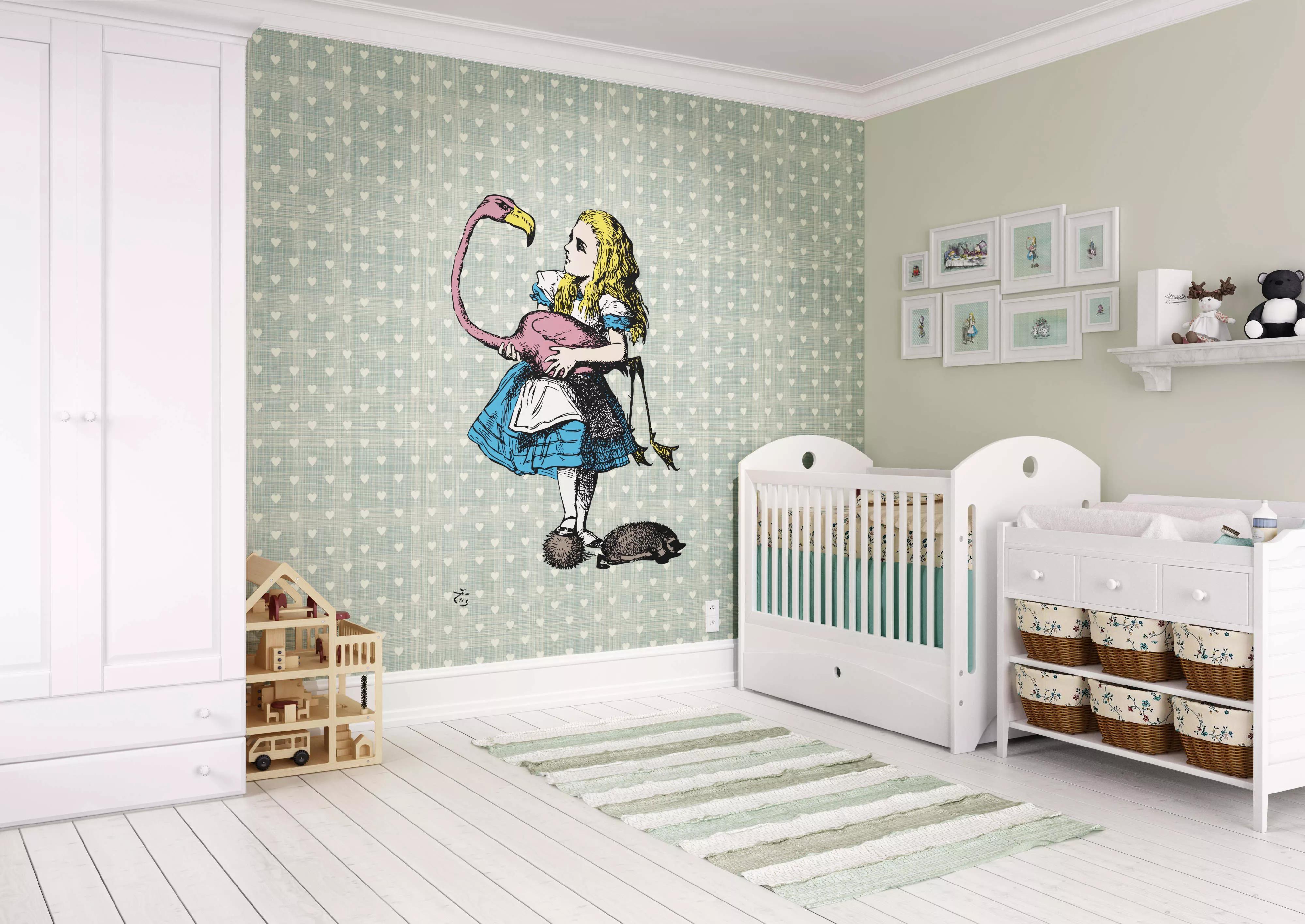 Fali poszter Alice csodaországban