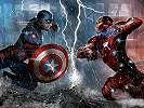 Fali poszter Amerika Kapitánya és Vasember összecsapása