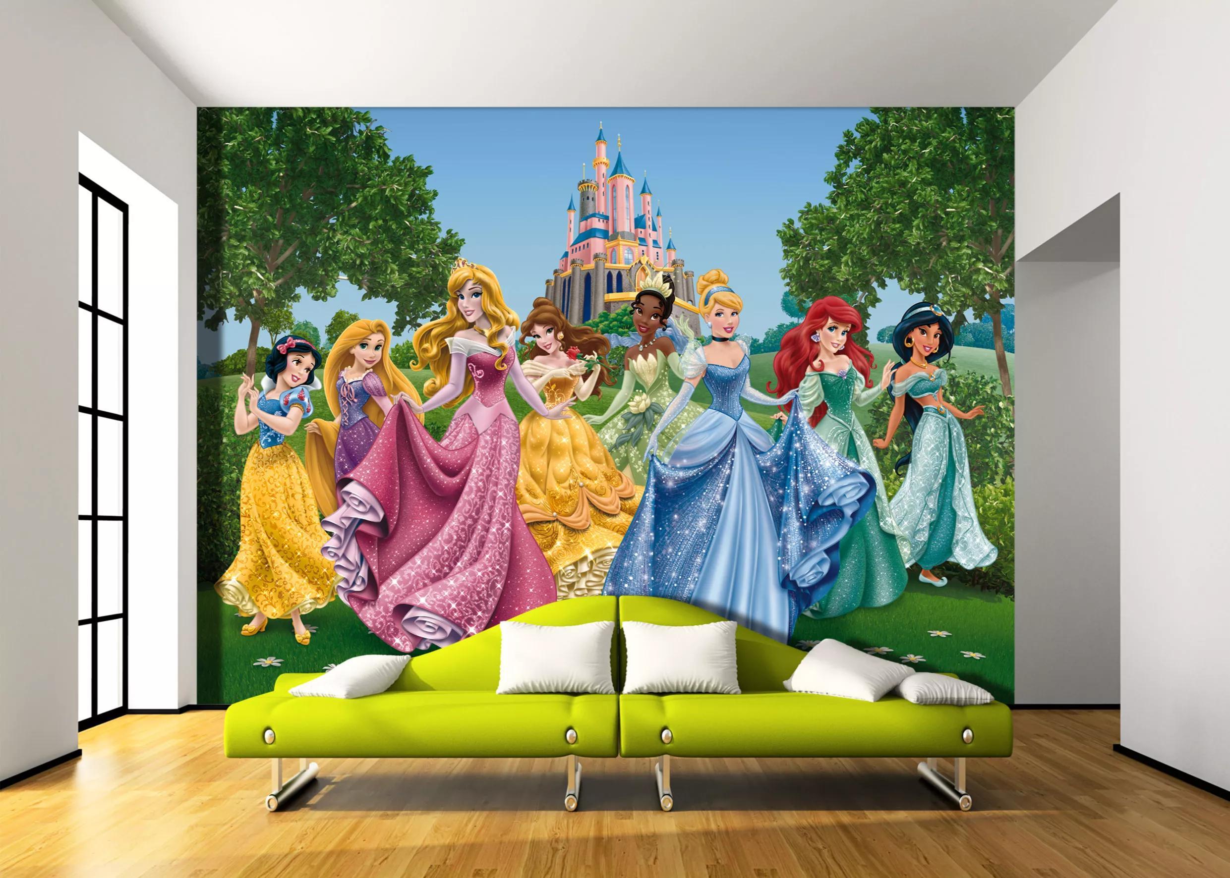 Fali poszter az összes Disney hercegnővel