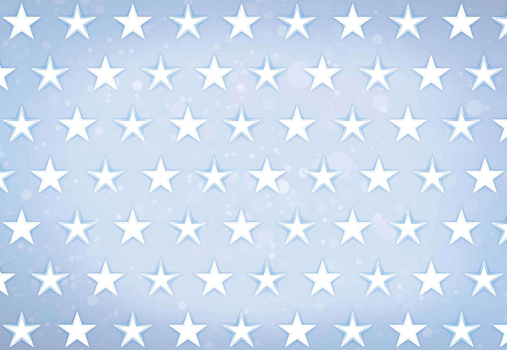Fali poszter csillag mintával