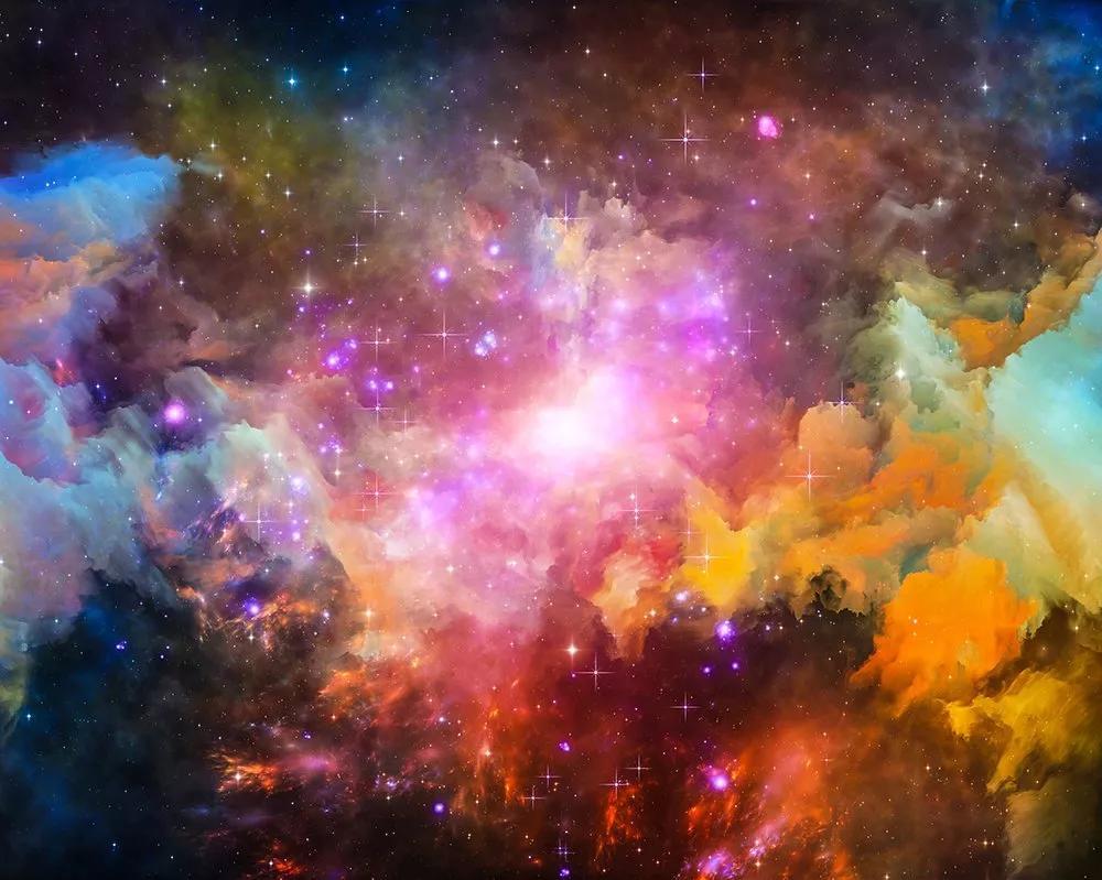Fali poszter egy galaxis látképével