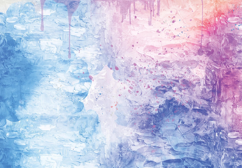 Fali poszter festmény hatással fantasztikus színekkel