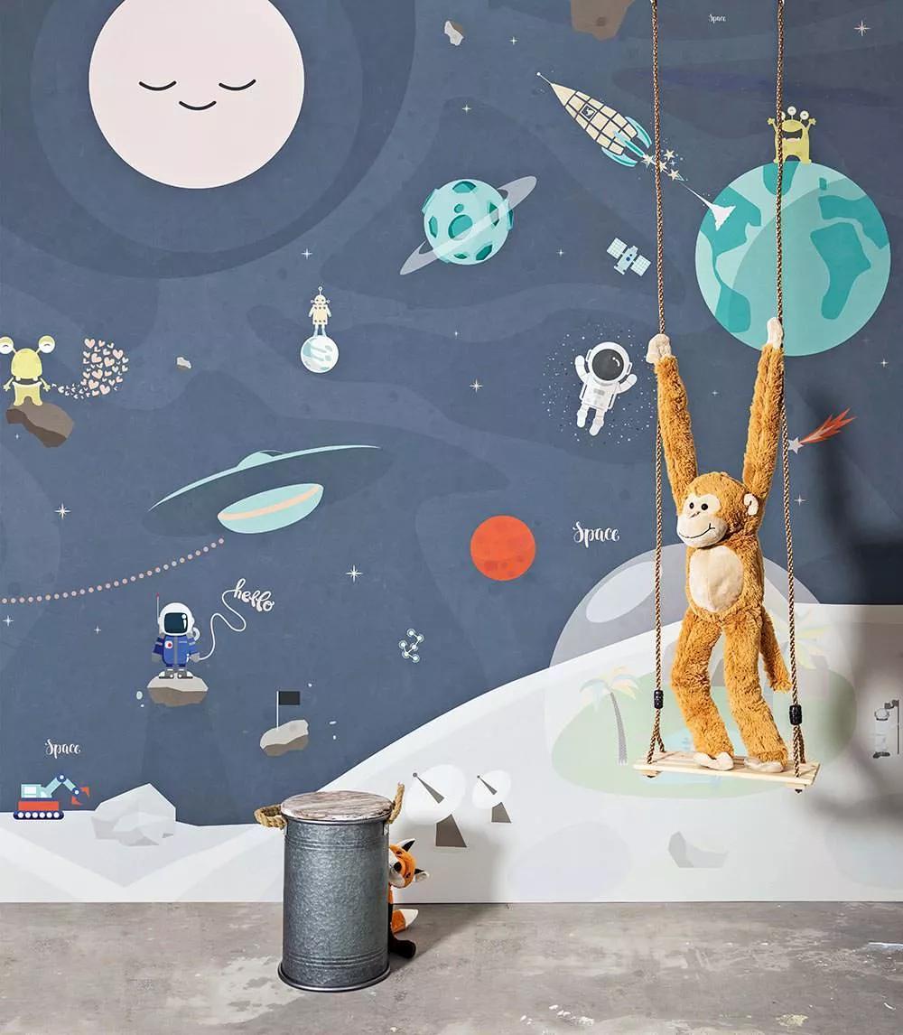 Fali poszter gyerekszobába a csillagászat apró szerelmeseinek