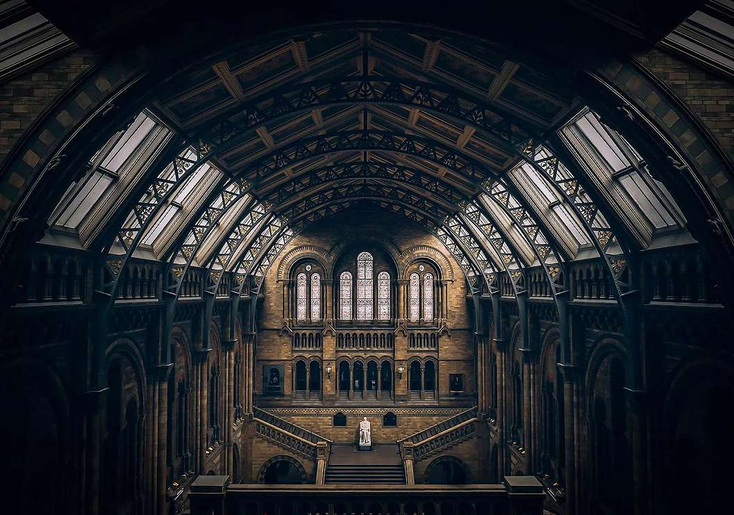 Fali poszter loft hangulatú katedrálissal