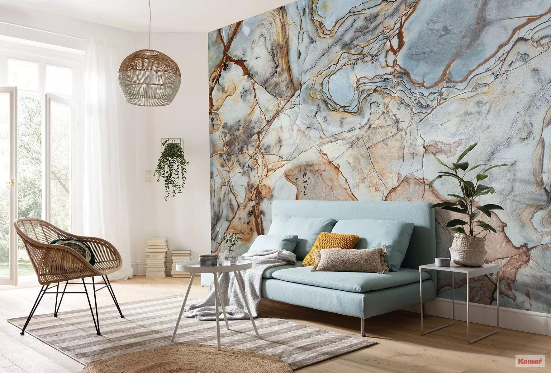 Fali poszter márvány mintával