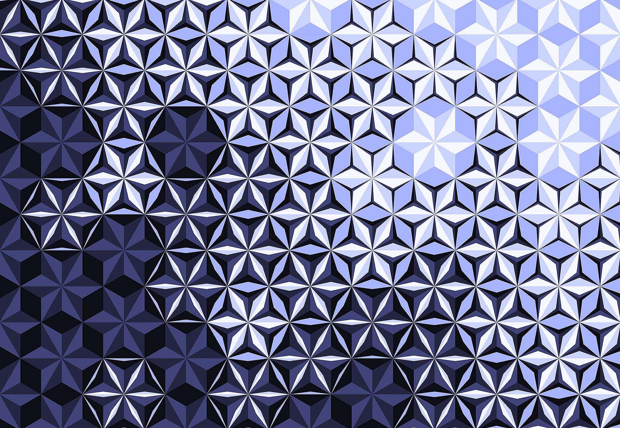 Fali poszter modern lila 3D hatású mintával