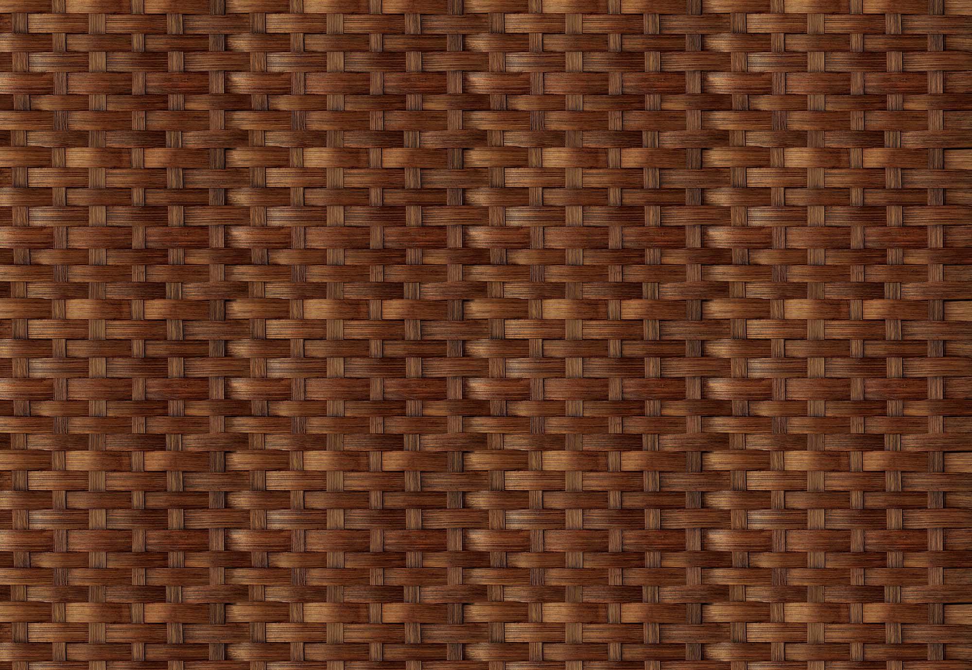Fali poszter rattan hatású mintával