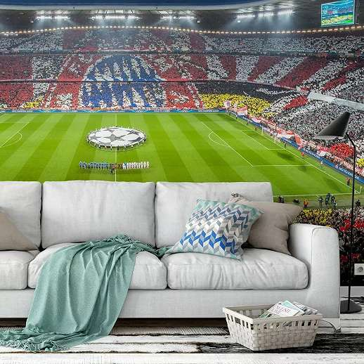 FCB Bayern München foci stadion fali poszter