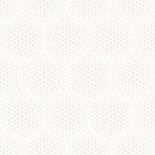 Fehér ezüstszürke pöttyös 3D hatású modern vlies tapéta