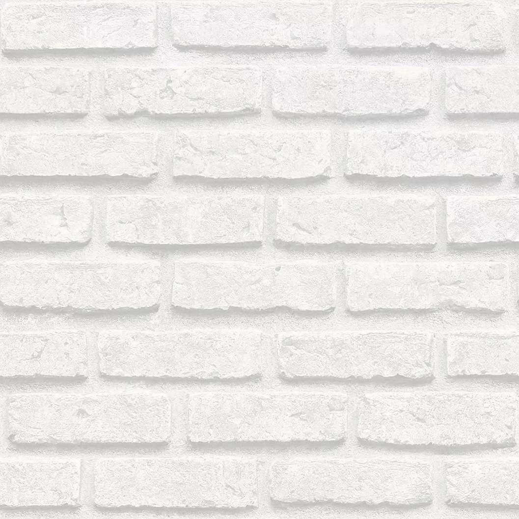 Fehér téglamintás tapéta