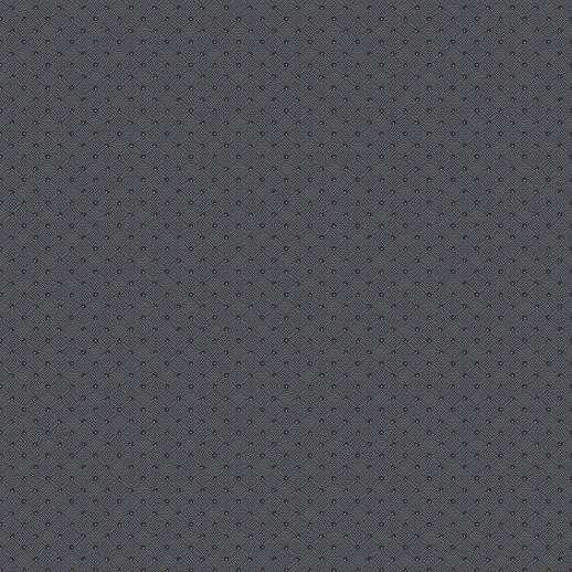 Fekete apró szegecselt geometrikus mintás vlies tapéta
