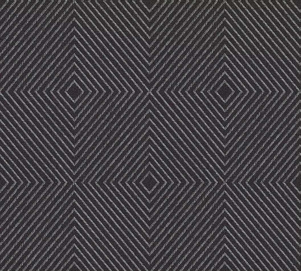 Fekete csíkos modern geometriai mintás tapéta