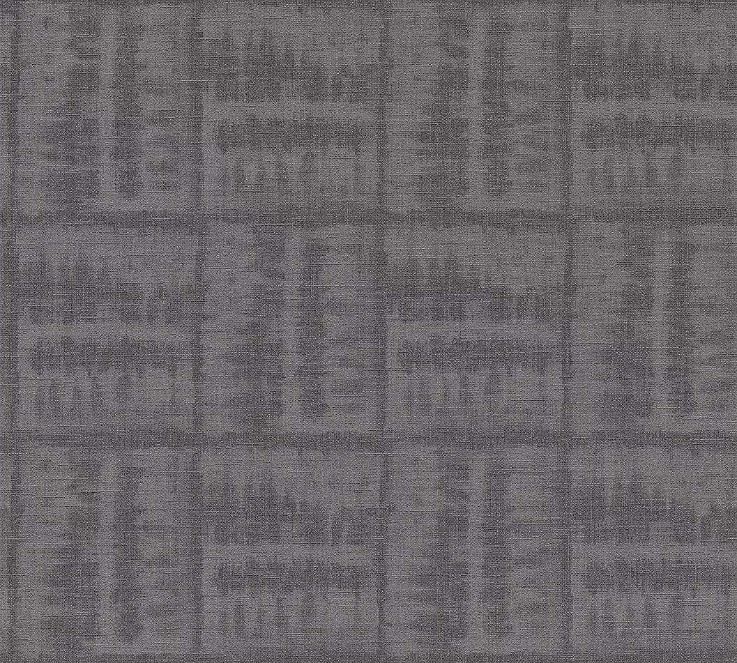 Fekete tapéta modern geometrikus mintával