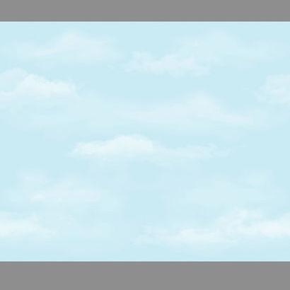 Felhő mintás bordűr