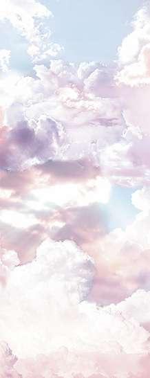 Felhő mintás fali poszter
