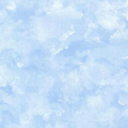 Felhő mintás gyerek tapéta